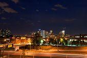 Downtown Denver Colorado At Night