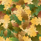 Eiken bladeren naadloze patroon