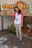 Rosario Dawson  at the EMA Celebrates the Garden Challenge by