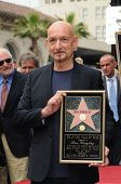 Sir Ben Kingsley at the induction ceremony for Sir Ben Kingsley into the Hollywood Walk of Fame< Hollywood, CA. 05-27-10