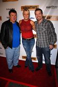 Frosty Stilwell, Heidi Hamilton and Frank Kramer  at the Red Carpet Launch Party for
