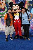 Rico Rodriquez and Raini Rodriguez at the World Premiere of 'World Of Color,' Disney's California Adventure, Amaheim, CA. 06-10-10