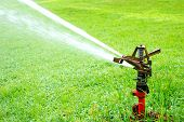 Watering in golf course turf