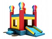 stock photo of bounce house  - Children - JPG