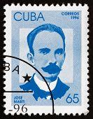 Postage Stamp Cuba 1996 Jose Marti, Cuban Revolutionary