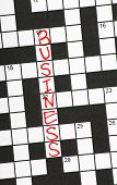 Business Crossword Clue