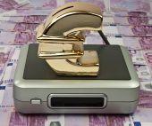 Concept Of Modern Communications Money Savings