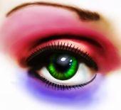 Coloured Eye Study