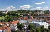 Vilnius Old Town Panorama