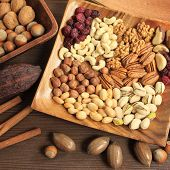 foto of pecan  - Varieties of nuts - JPG
