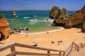 picture of lagos  - Ponta de Piedade beach Lagos Algarve region Portugal - JPG