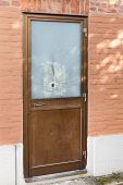 Door With A Bullet Hole