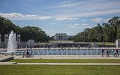 Lincoln Memorial in a fall day 9-19-2012 - Washington DC USA