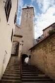 Clock Tower In Omis