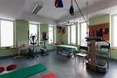 Room With Equipment For Physical Training