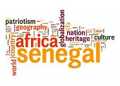 Senegal Word Cloud