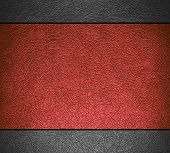 Brown and gray leather texture background for design