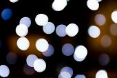 Bokeh Of Christmas Lights