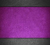 Purple and gray leather texture background