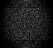 Old black leather texture background