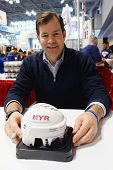 Mike Richter, New York Rangers Goalie and Hall of Famer,  during autographs session in New York