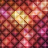 Red Geometric Pattern, vector eps10 illustration