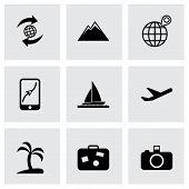 Vector travel icon set