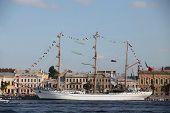 Mexican three-masted barque Cuauhtemoc