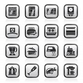kitchen appliances  and equipment icons