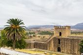 View Of Ronda Wall, Spain