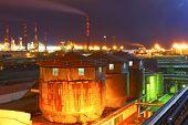 Oil refinery.Industrial zone.