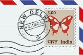 New Delhi stamp