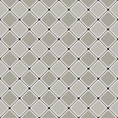 Geometric seamless pattern with intersecting lines. rounded tile
