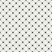Geometric seamless pattern with intersecting lines and dotted li
