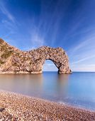 Jurassic Coastline Around Durdle Door