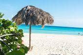 Scene Of Varadero Beach In Cuba