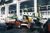 modern mechanism factory interior