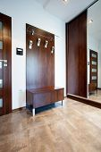 Anteroom With Wooden Elements