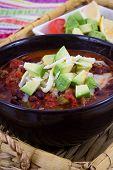chili con carne bowl