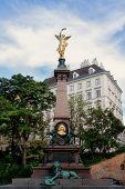 Liebenberg monument - Vienna poster