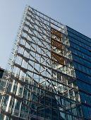 modern high-rise building in Berlin
