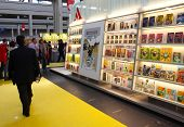 Internationale Buchmesse (Salone Internazionale del Libro), Turin, Italien