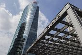 Berlin, Germany - August 30, 20114: Enterance To Potsdamer Platz Railroad Station
