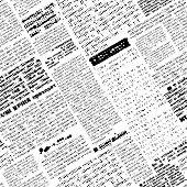 stock photo of newspaper  - Seamless background pattern - JPG
