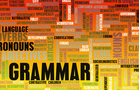 image of verbs  - Grammar Learning Concept and Better English Art - JPG