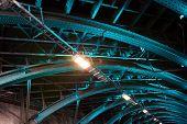 stock photo of koln  - Bridge metal structure - JPG
