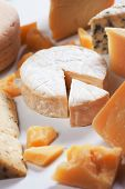 image of brie cheese  - Soft cheese - JPG