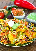 stock photo of nachos  - Mexican food  - JPG