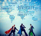 pic of racial diversity  - Diversity Community Population Business People Concept - JPG