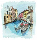 pic of gondola  - 2 gondolas - JPG